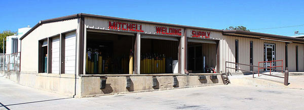Mitchell Welding Supply Warehouse in Terrell, TX